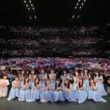 『【乃木坂46】よく見ると客席に何かが!?『ZIP春フェス』ステージ集合写真が公開!!!』の画像