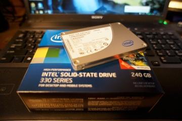 メインPCをSSDに換装