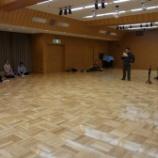『広い!発表演奏会のリハーサル会場』の画像