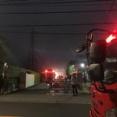 板橋区舟渡4丁目で大規模な火災が発生。日本金属の板橋工場から出火したらしい。