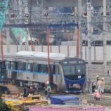 『祝!!MRTJ南北線車両、全車ルバックブルス車両基地へ搬入完了(12月8日)』の画像