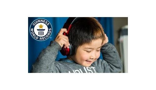 日本人6歳男児が最年少DJギネス世界記録に認定