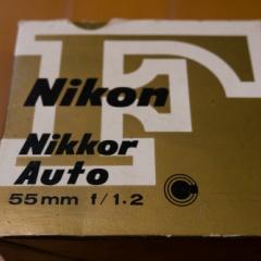 NIKKOR SC Auto 55mm f1.2