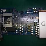 『apple i Mac G5 ロジックボードのコンデンサ交換』の画像