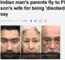 「妻が言うことを聞かない」と夫 インドから呼ばれた両親、虐待に加担