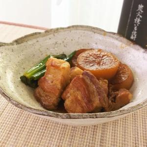 じっくり煮込んで柔らかく♪豚バラ肉と大根の焼き角煮