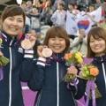 女子団体 日本が銅メダル!3位決定戦でロシアを破る【五輪/アーチェリー】