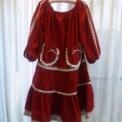 シャンソン歌手様の楽屋着◆赤袖あり