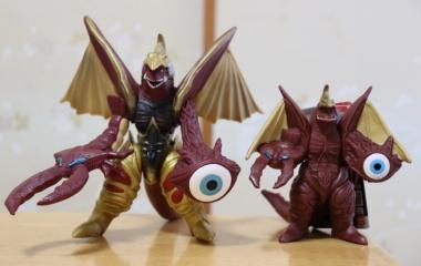 『ウルトラ怪獣シリーズ 102 超合体怪獣ファイブキング レビューらしきもの』の画像
