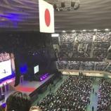 『【乃木坂46】ステージ上にお菓子や飲み物がw メンバーは出演外でもステージでライブを観覧している模様wwwwww【若月佑美 卒業セレモニー@日本武道館】』の画像