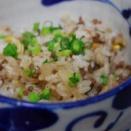 365日米レシピNo.「桜島大根のそぼろご飯」