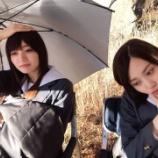 『【乃木坂46】なんのポーズ!?w 梅澤×山下『映像研』オフショットがとにかく可愛すぎるwwwwww』の画像