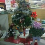 『クリスマスシーズン到来!大映ミシンもクリスマスカラーに変身しました!!!』の画像