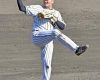阪神・秋山が五回まで3安打無失点 無四球と制球力も抜群