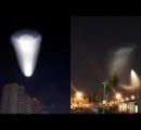 【中国】白色に光る謎の飛行物体が出現[動画]