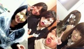 【日本の学生】  女子学生 の間で 顔にシュークリームをぬる写真を ツイッターに投稿する流行が起きてるらしいぞ。   海外の反応