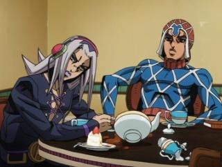 【ジョジョ】アバッキオ「承太郎くん… だっけ?お茶でも飲んで話でもしようや…」