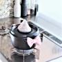 【フランフラン】かわいすぎるリボン鍋つかみ♪キッチンが一気に華やかに♪