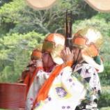 『鎌倉の奉納舞楽を見てきました』の画像
