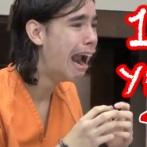 【画像】10代で終身刑(仮釈放なし)をくらった瞬間の顔がこちら→