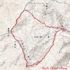 『広島県民の森 烏帽子山~御陵~越原峠 周回』の画像