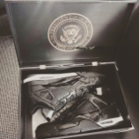 『Air Jordan 11LAB4 Balack Obama PE(president's edition)』の画像
