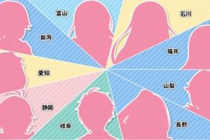 【アイマス】アイドルマスター 日本横断フェア in アニメイト 中部ブロック登場アイドルのシルエット解禁!
