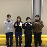 『平成30年度仙台市春期卓球リーグ戦(女子の部)』の画像