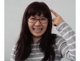 【画像】髪ロングにして前髪パッツンでメガネを掛けた福原愛ちゃん(27)が超かわいい