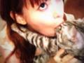 【悲報】 中川翔子さん、また猫にかぶりつく (画像あり) wwwwwwwwwwwwwwwwwww