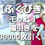 『【ふくびき】モッヒ!福引きを3万枚引く!』の画像