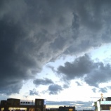 『突然の豪雨でした 雹も降った戸田市です』の画像
