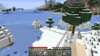 雪の城近くに馬小屋ではなく民家を作る
