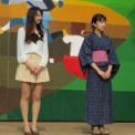 2013年 第45回相模女子大学相生祭 その39(ミスマーガレットコンテスト2013の29(2人づつスポット当てて))