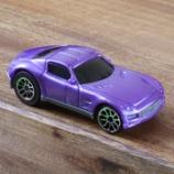 『バタット Driven プルバックカー WH1125Z 紫色の車』の画像