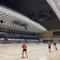 前日練習◆札幌国際インドア◆《無観客試合》