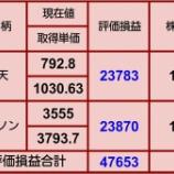 『【持ち株全て評価損】10月19日 評価損益』の画像