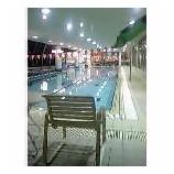 『プールで涼を取る』の画像