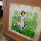 『戸板に描く』の画像