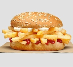 バーガーキングが発売した『フライドポテトバーガー』が大論争に発展! 海外の反応。