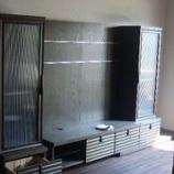 『ワイド3600ミリのテレビボードの納品』の画像