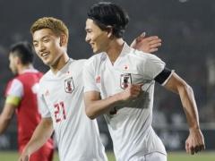 【 日本代表 vs タジキスタン 】試合終了!後半に南野2ゴール!途中出場の浅野もゴールを決めて3-0で勝利!
