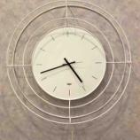『シンプルでおしゃれなイタリア製掛時計』の画像
