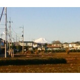 『今朝の富士山』の画像