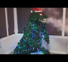 ★【動画】クリスマスなんか焼き尽くしてくれゴジラ