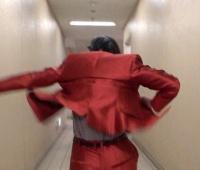 【欅坂46】てちのパルコ衣装の背中が格好良すぎる件