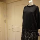 『B DONNA (ビドンナ)レーススカート付きスウェットワンピース』の画像