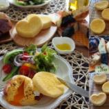 『基礎 イングリッシュマフィン、ポテトチーズ 中級 バターロール、シナモンロール』の画像
