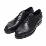 『誂靴 | JOE WORKS (ジョーワークス) JOE-6 SEMI BROGUE DERBY MISTYカーフ 色変え』の画像