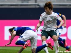 【動画】途中出場の大迫勇也さん、GKと1対1で横パス…懲罰交代